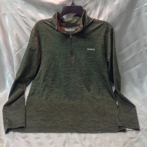 Tee ok long sleeves pullover deep green